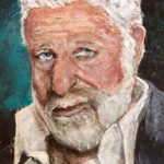 Encaustic Art Interesting Man