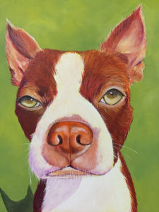 fun painting of your dog by teri althouse avani studios daytona beach