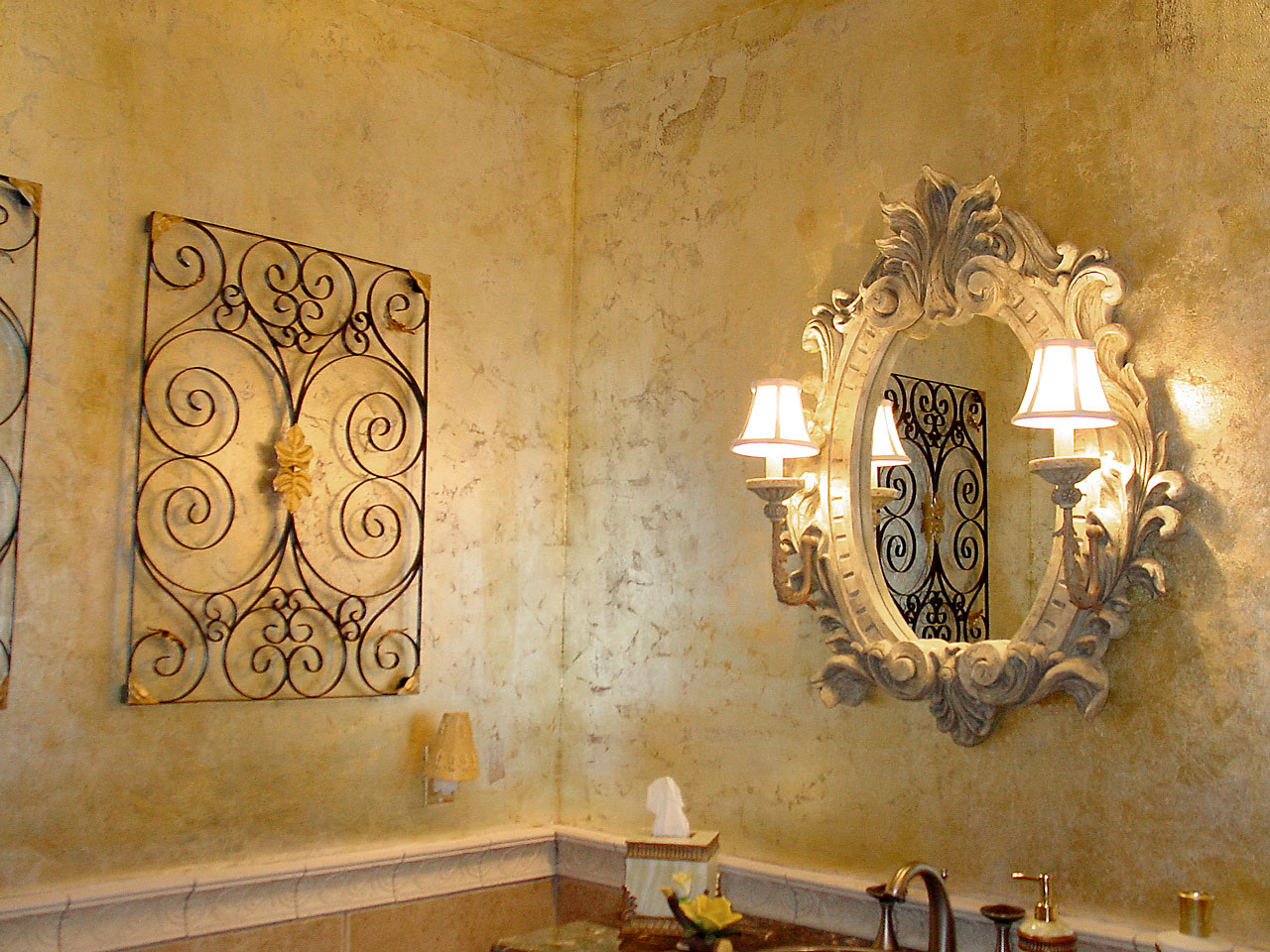 Interior decorating faux painting and finishes Daytona Beach FL Orlando