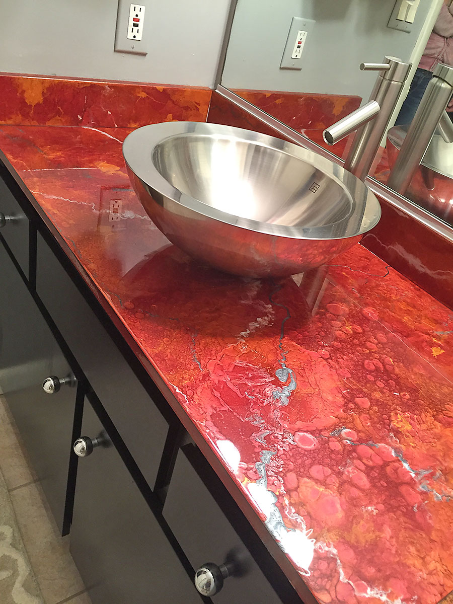 Luxury Faux Finishes Countertops Cabinets Furniture